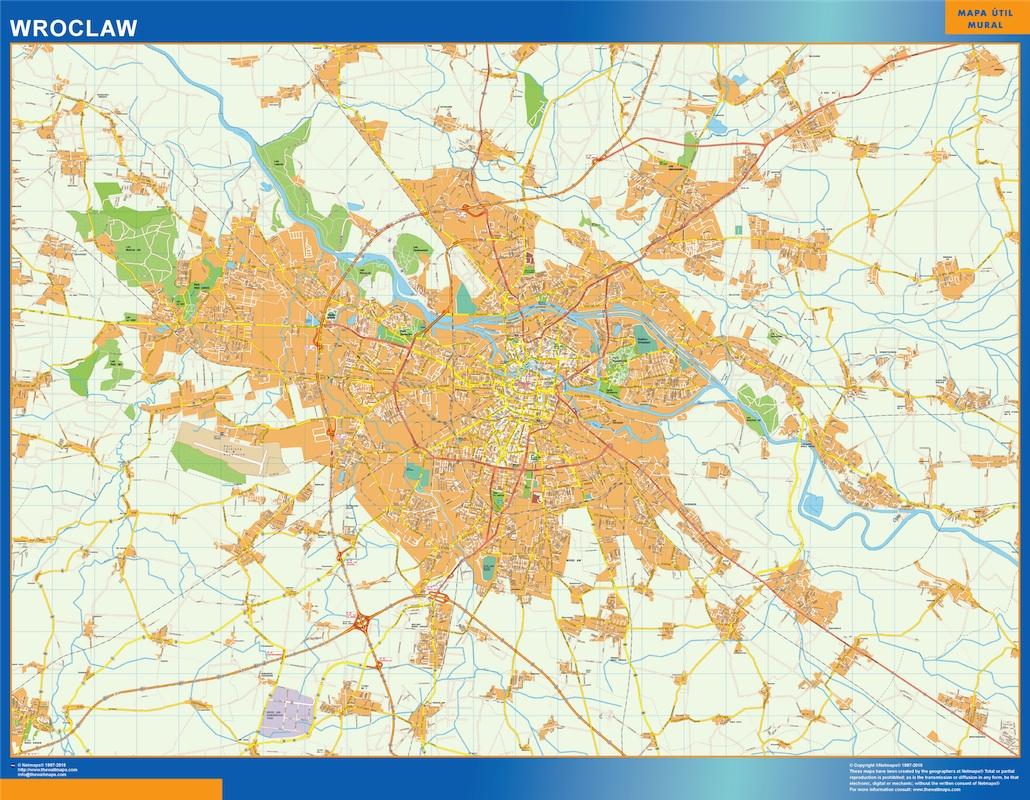 Wroclaw mapa