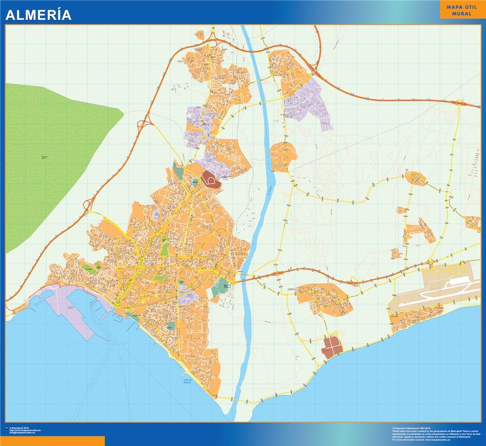 almeria map