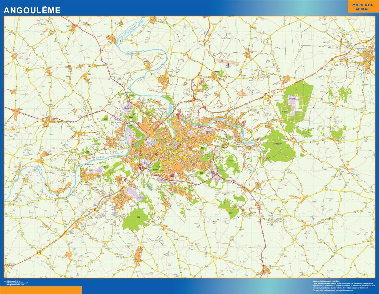 angouleme map