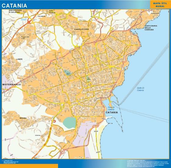 catania map