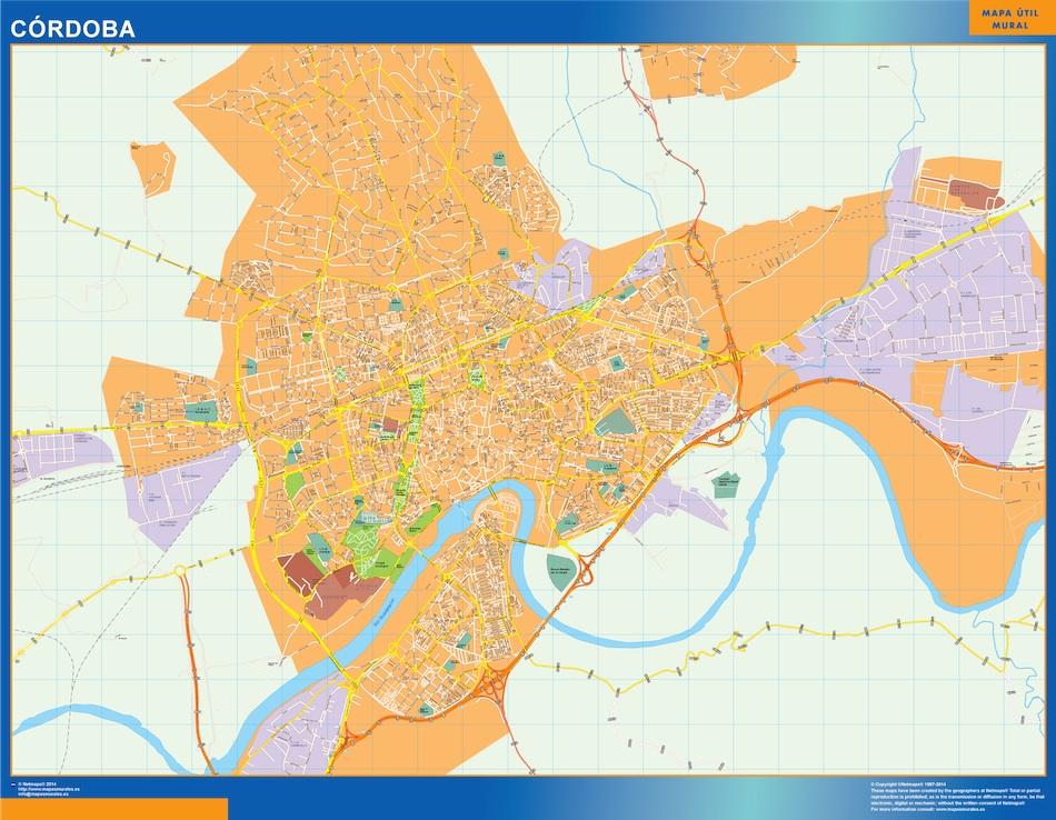 cordoba map