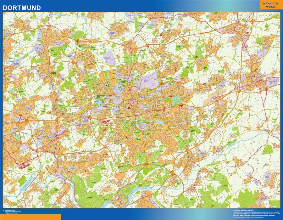 dortmund map