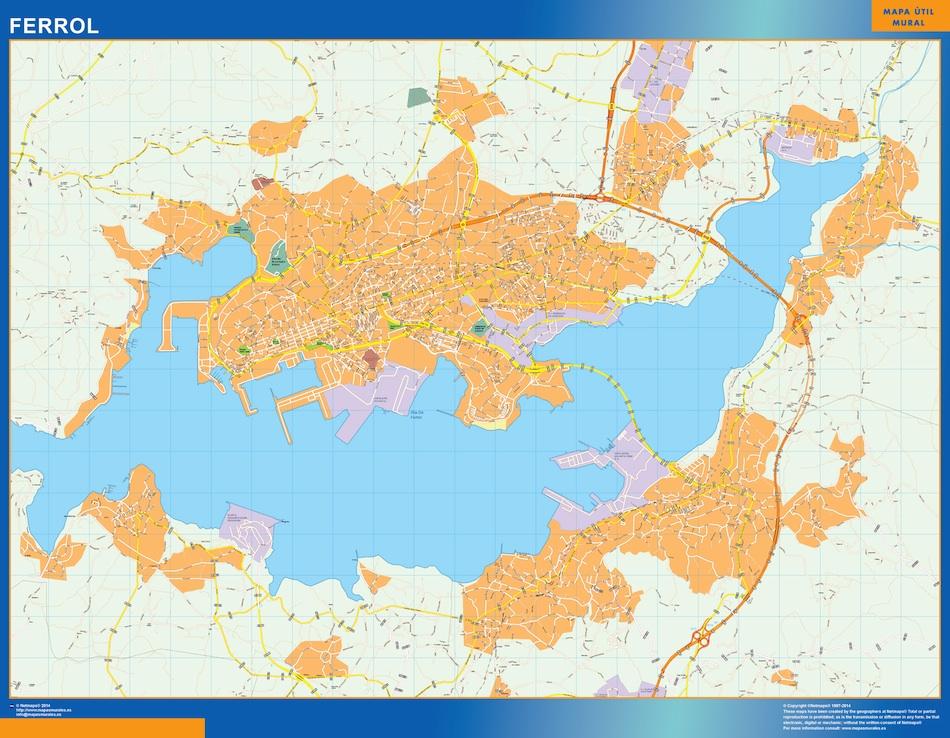 ferrol map