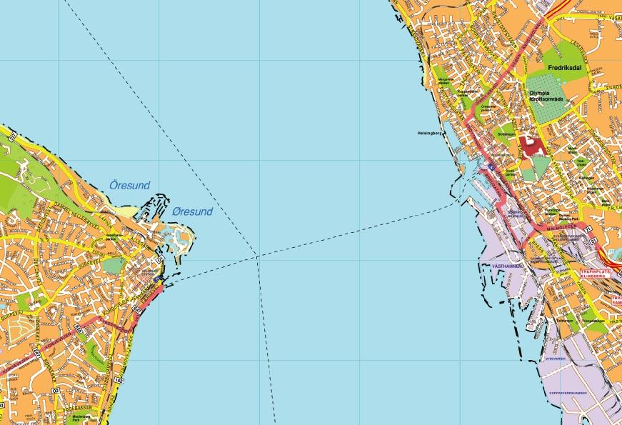 helsinborg map