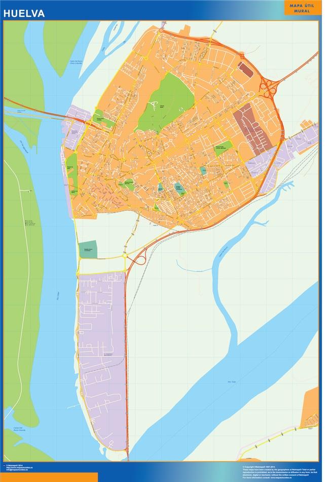 huelva map
