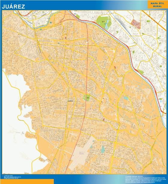 juarez map