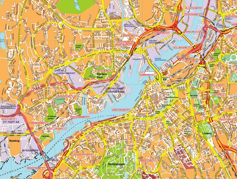 Our G 246 Teborg Karta Wall Maps Mapmakers Offers Poster