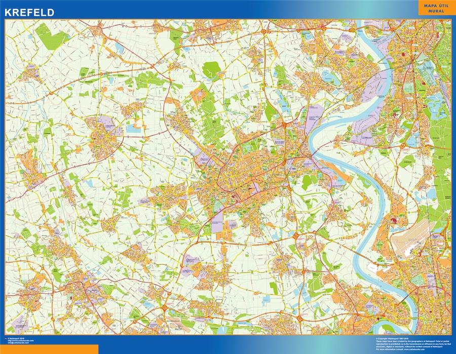krefeld map