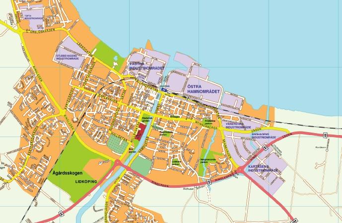 lidkoping map