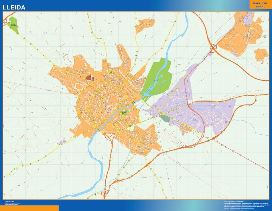 lleida map