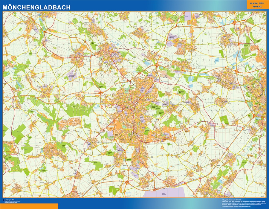 monchengladbach map