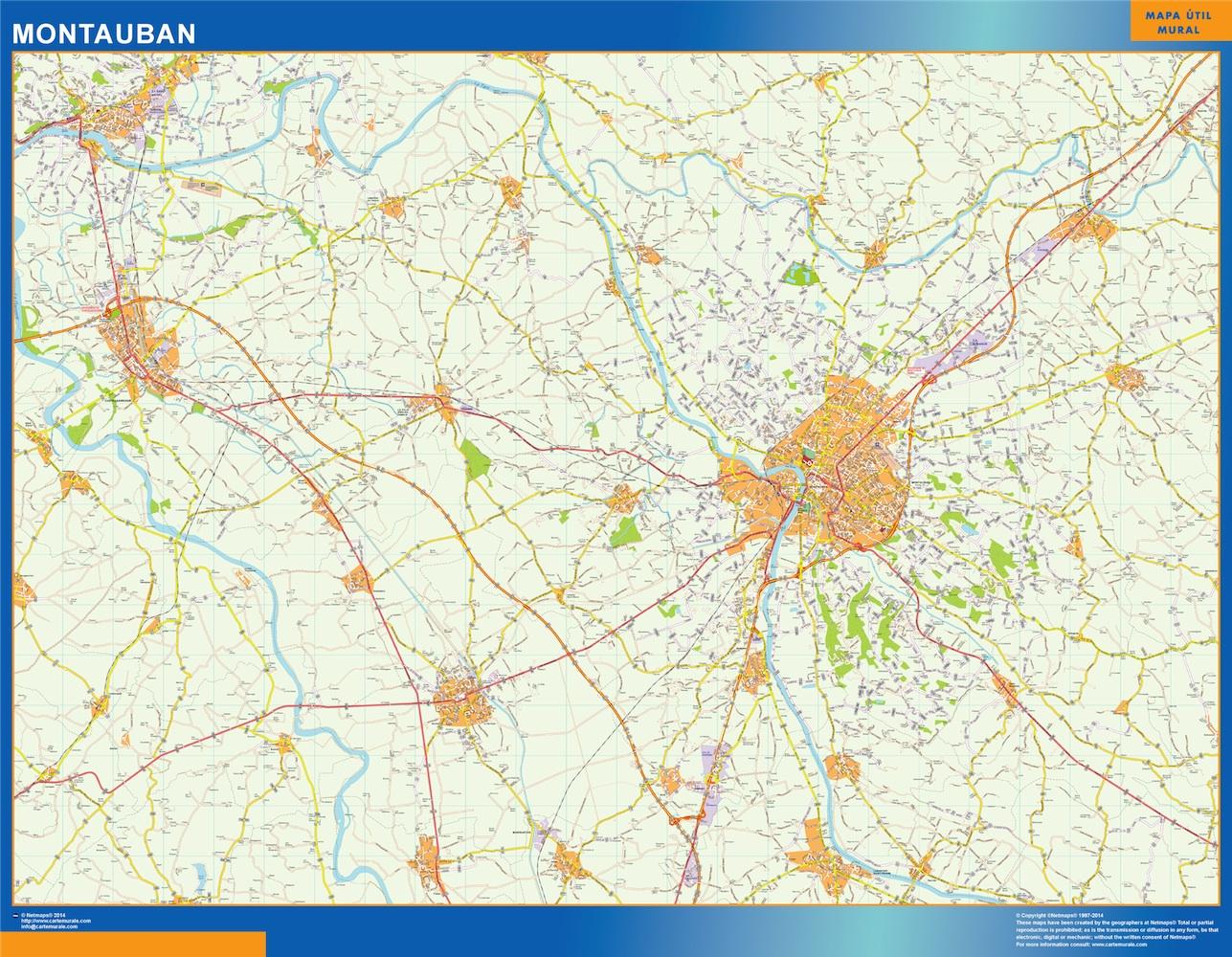 montauban map