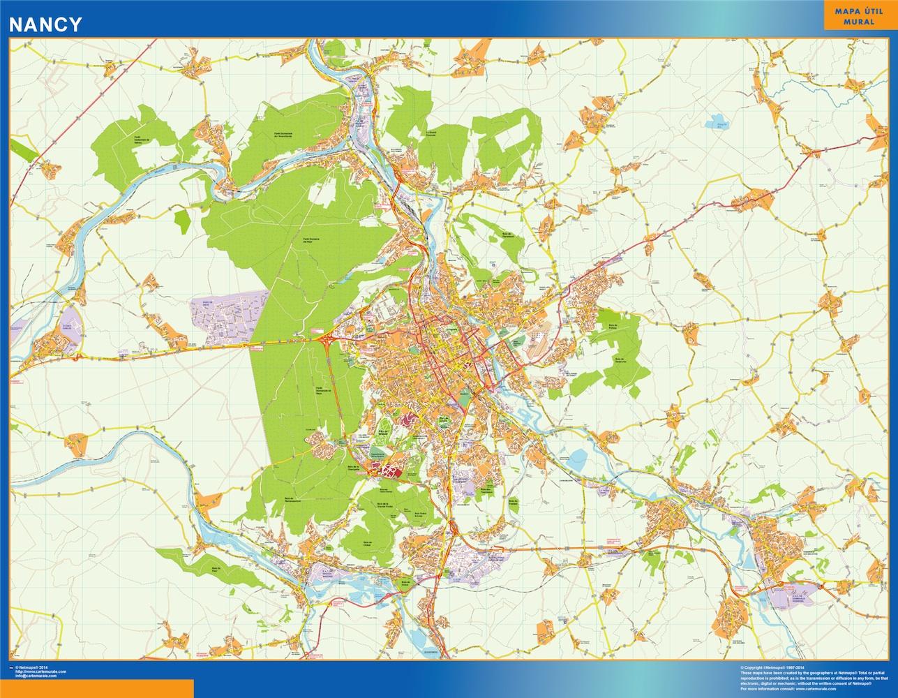 nancy map