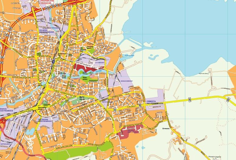 orebro map