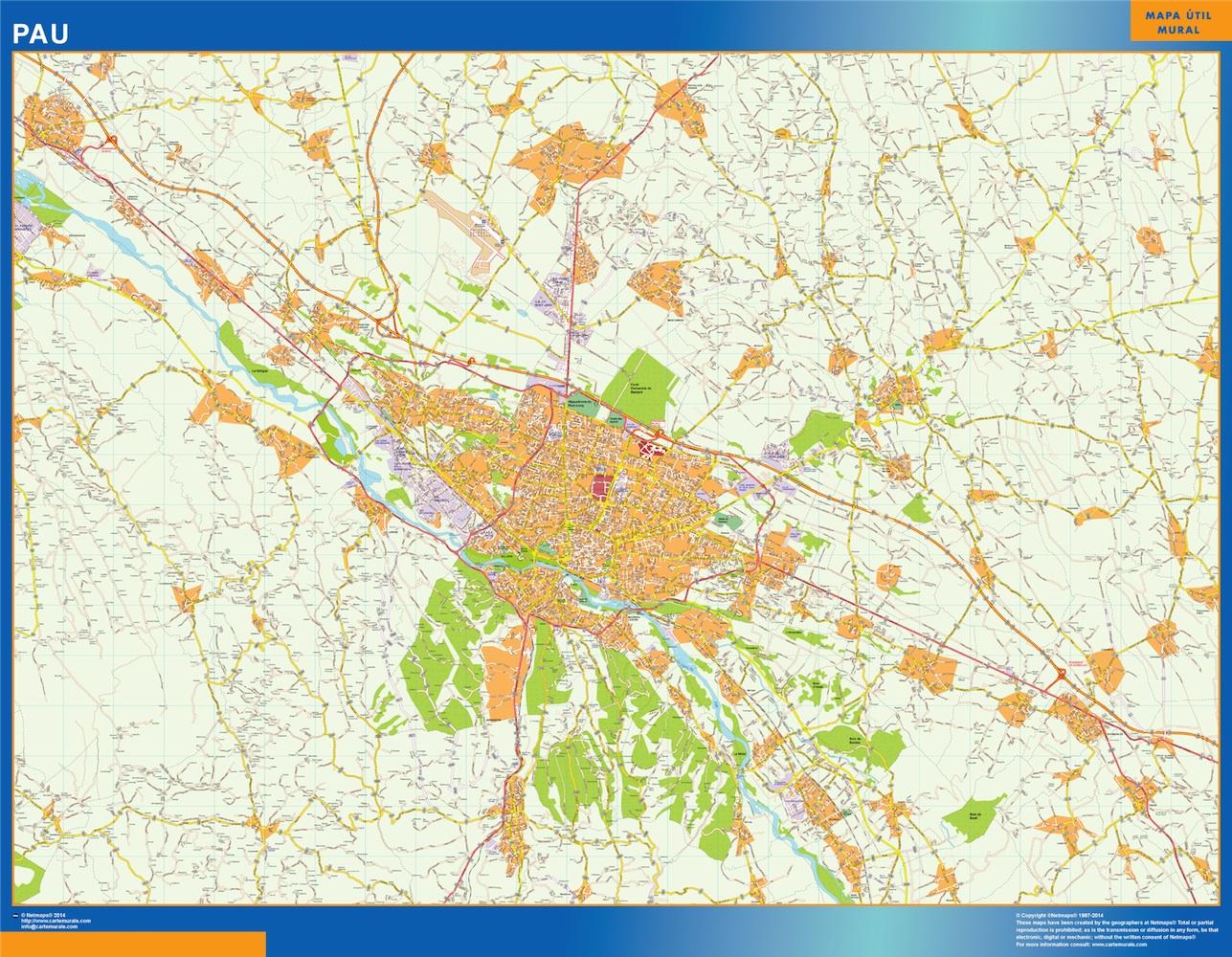 pau map