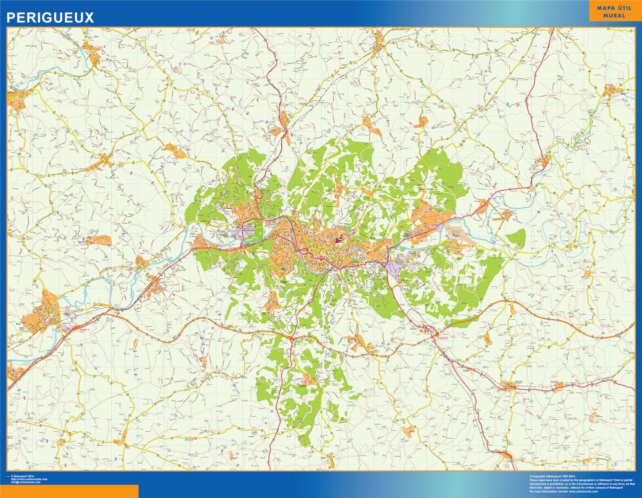 perigueux map
