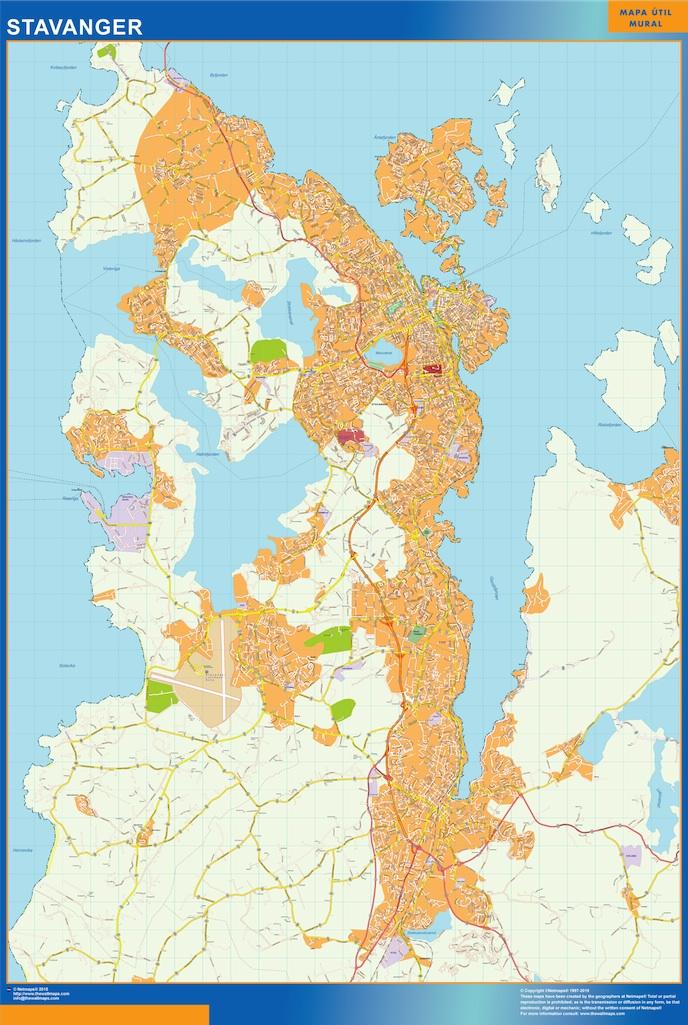 stavanger map