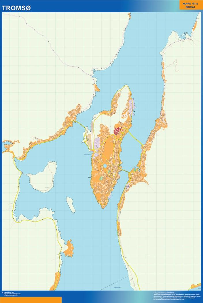 tromso map