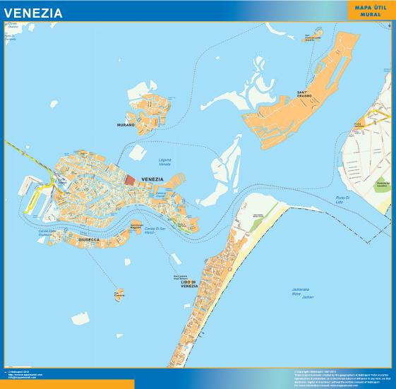 venezia map