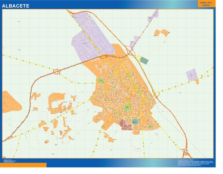 albacete street map