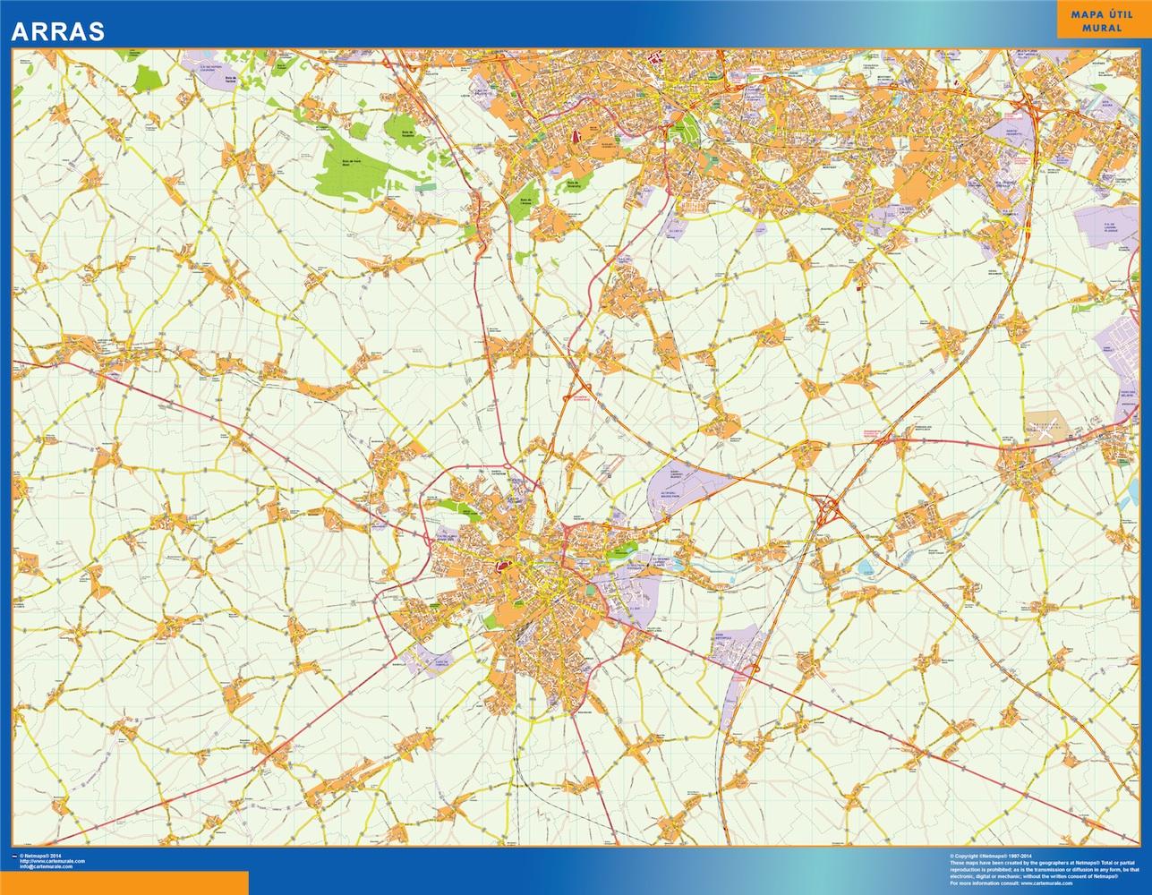 arras street map