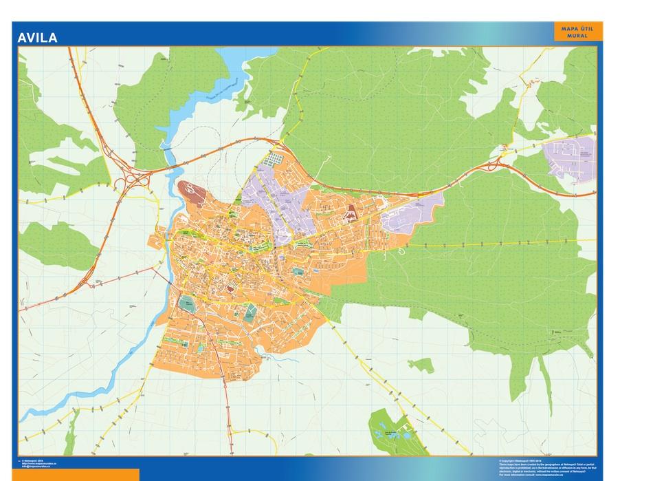 avila street map