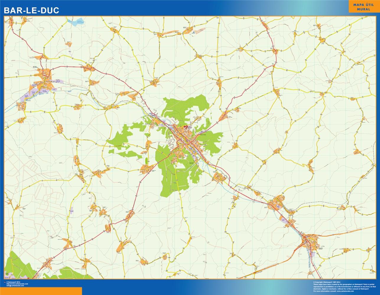 bar-le-duc street map