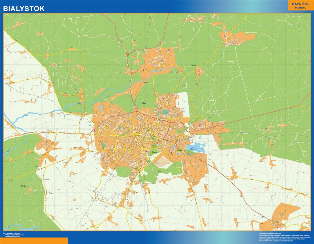 bialystok street map
