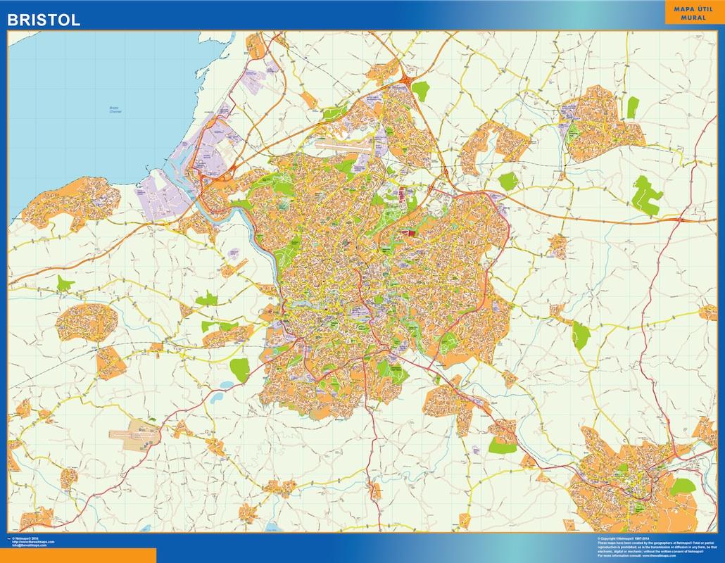 bristol street map