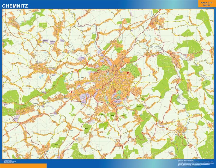 chemnitz street map