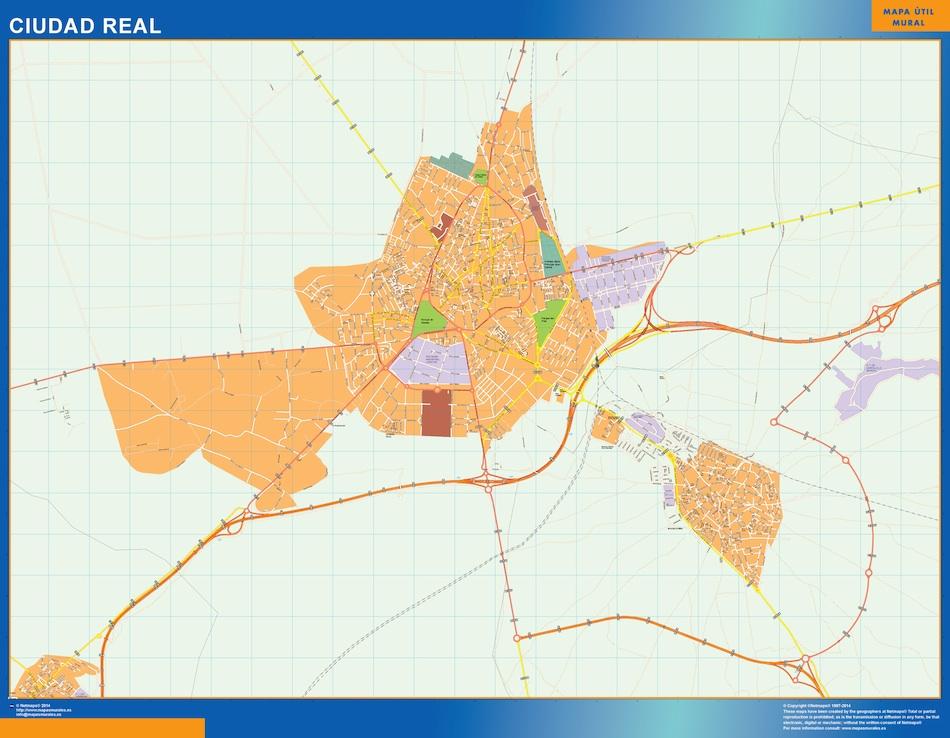 ciudad real street map