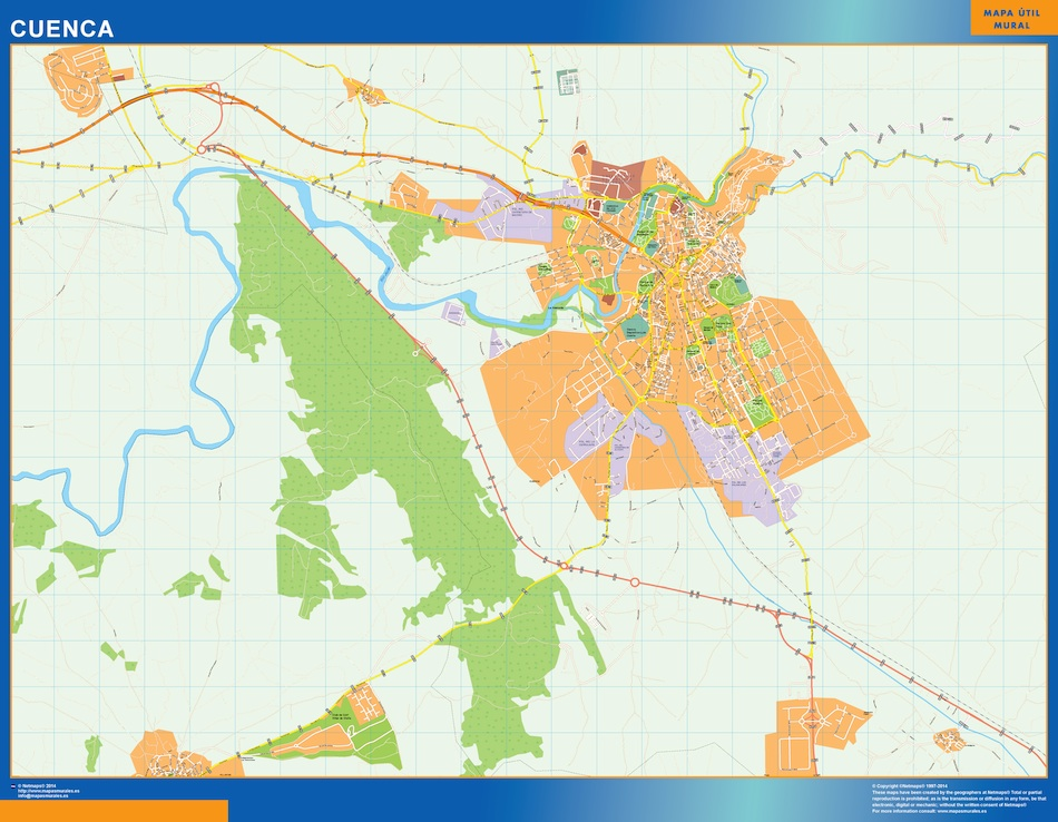 cuenca street map