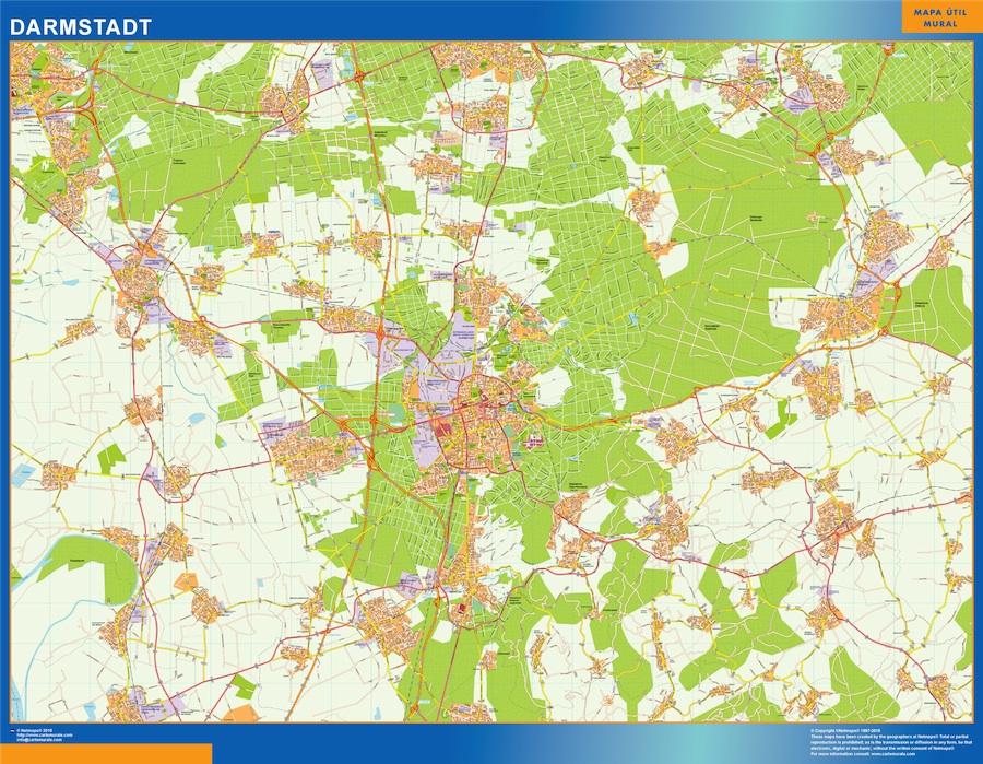 darmstadt street map