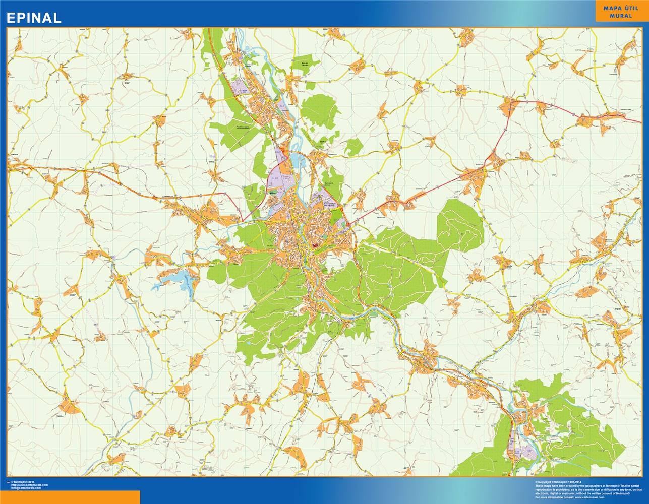 epinal street map