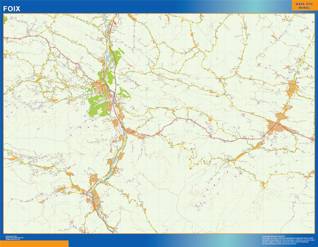foix street map