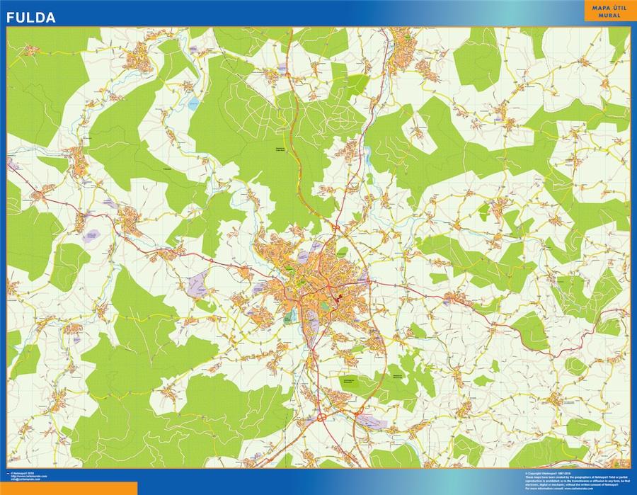 fulda street map