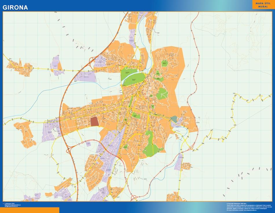 girona street map
