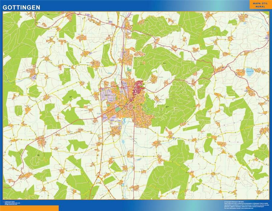 gottingen street map