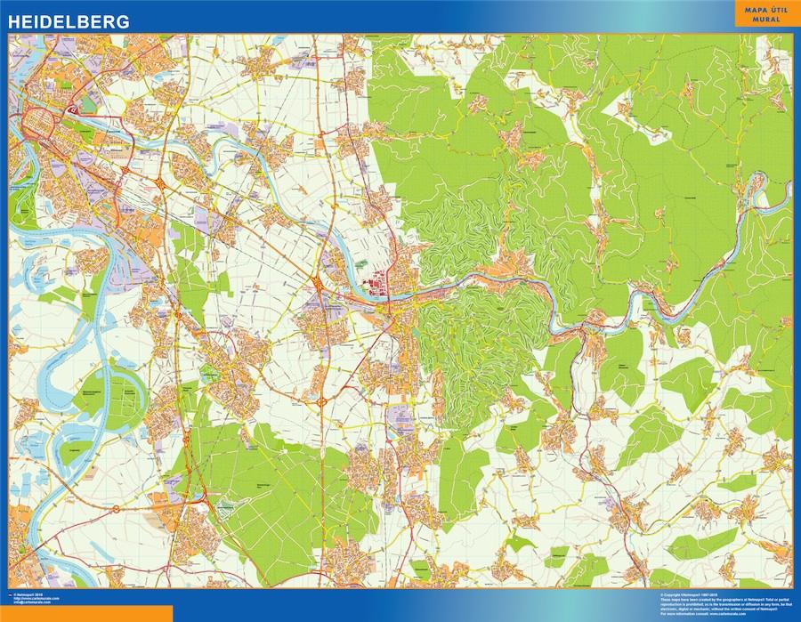 heidelberg street map