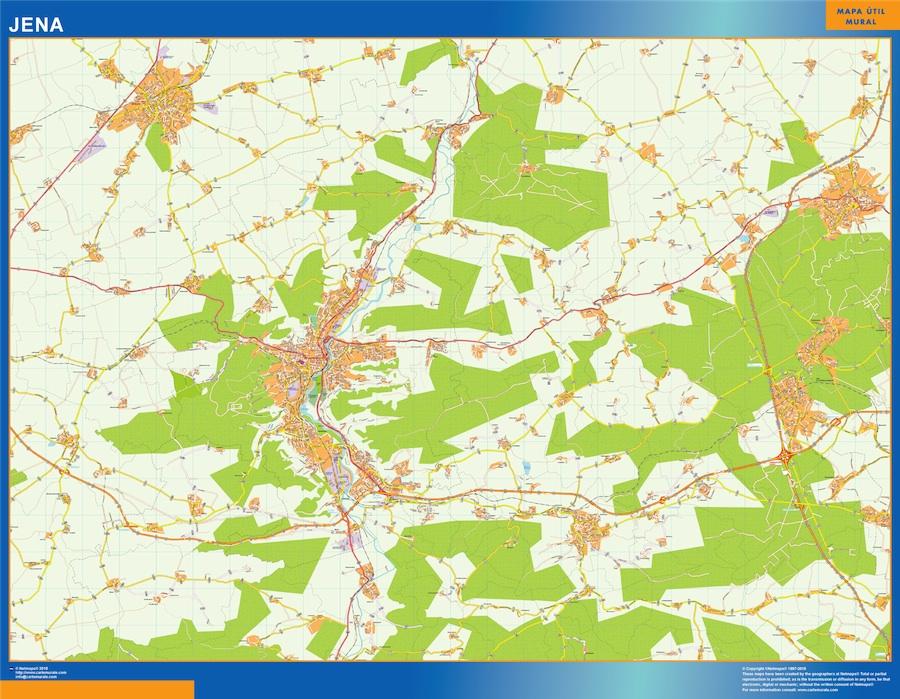 jena street map