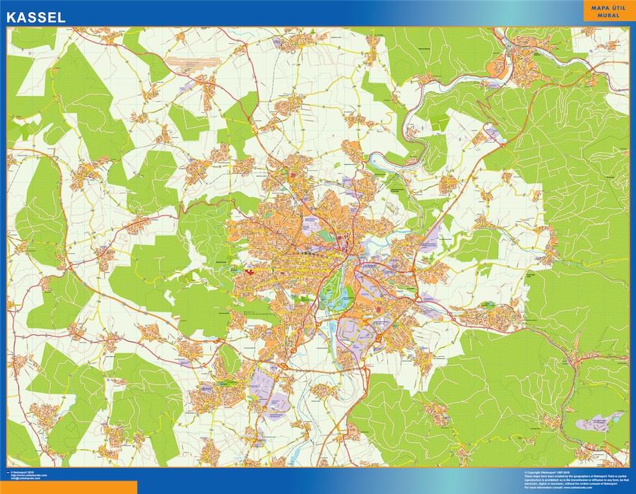 kassel street map