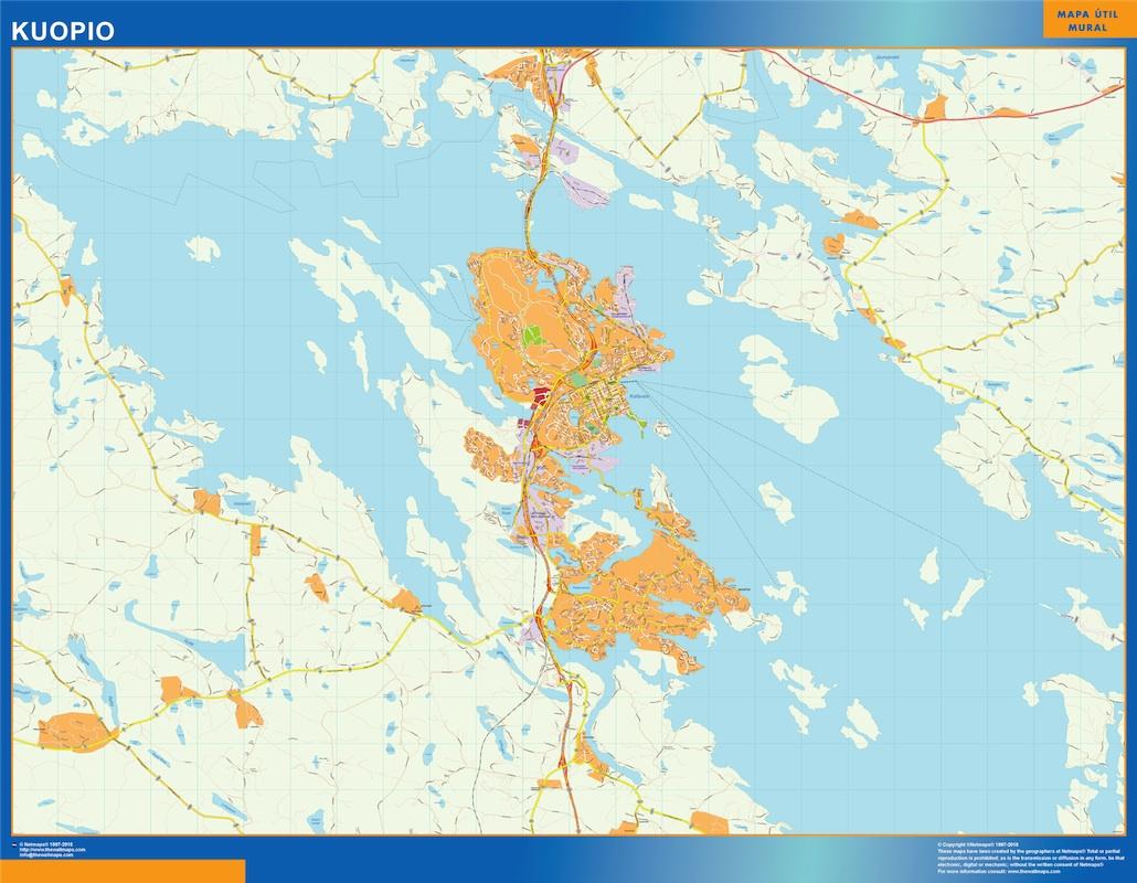 kuopio street map