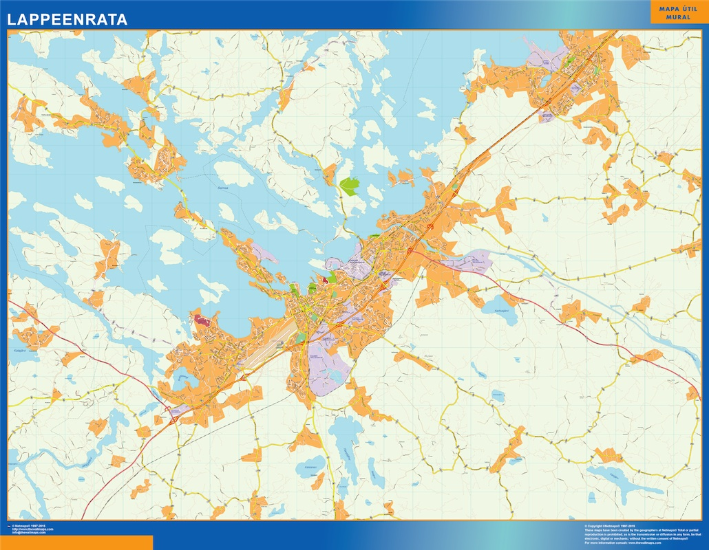 lappeenrata street map