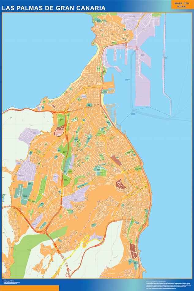 las palmas de gran canaria street map
