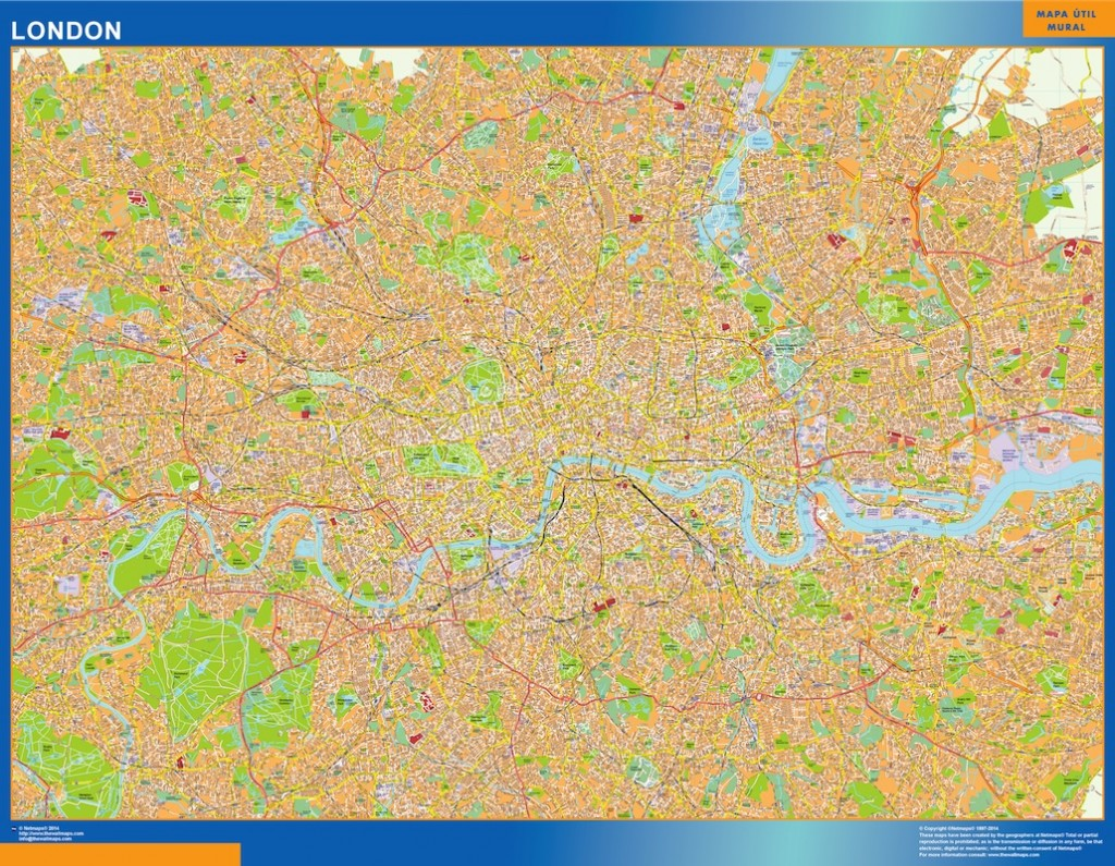 londres street map