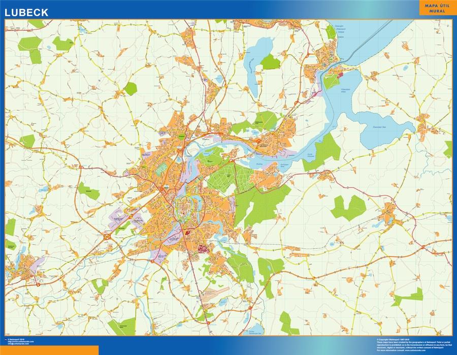 lubeck street map