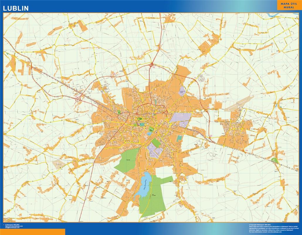 lublin street map