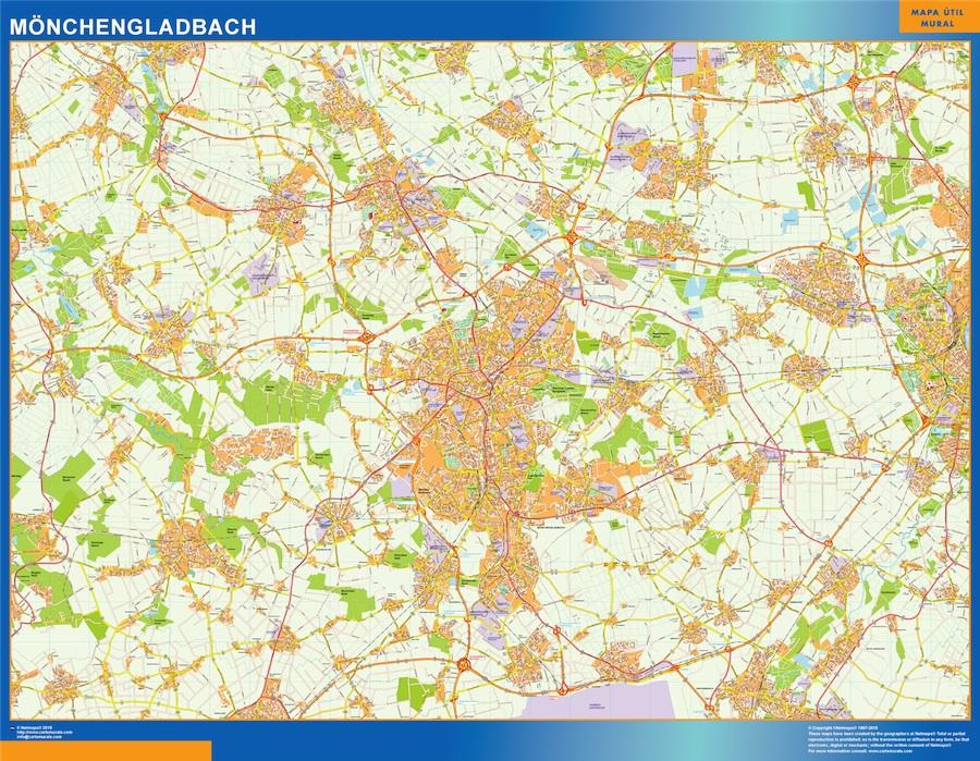 monchengladbach street map