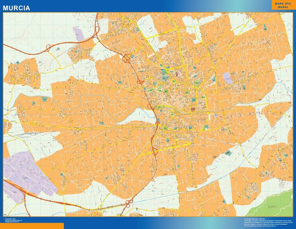 murcia street map
