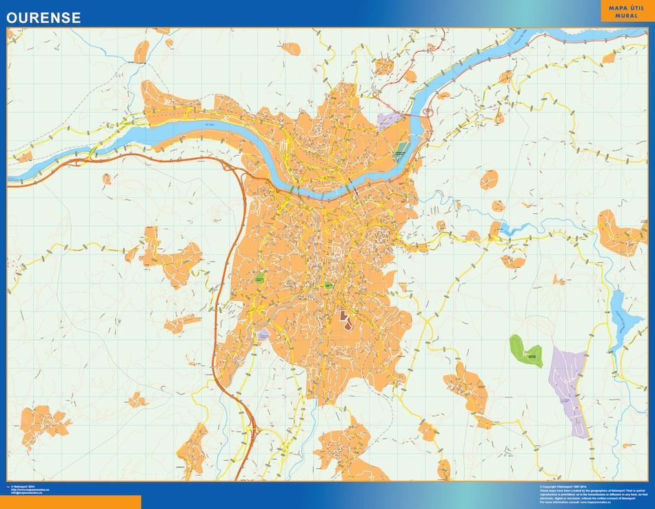 ourense street map